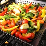 Grilled Gourmet Vegetable Medley