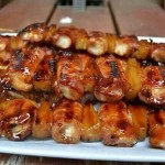 "Bacon Wrapped ""Touchdown Tenders"""