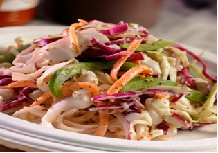 apple cider cole slaw recipe with Lawhorn's Signature Seasoning